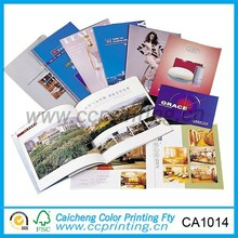 Alibaba china saddle stitch advertising magazine printing