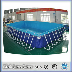2015 new design factory directly safety swim pool 6.30m*5.14m*0.7m