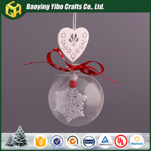 New arts and crafts best price Custom christmas tree ball ornaments bulk