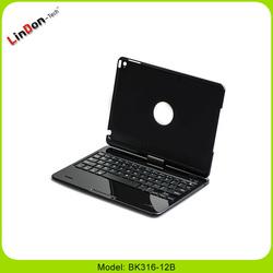 2015 New 2 in 1 bluetooth keyboard for iPad air 2 BK316-12B