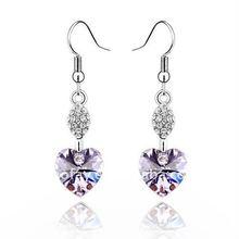 (060892) 2011 high quality platinum earrings