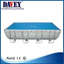 2014 new design rectangular above ground swimming pool