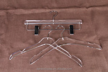 Customized Acrylic Hanger with unique design for pants display