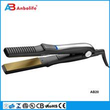Negative ion hair ceramic panel no heat hair straightener