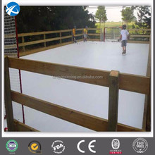Customized synthetic ice rink backyard/OEM uhmwpe sheet ice skating/hdpe sheet/panel/board