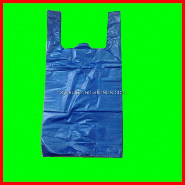 Top Grad Plastic T Shirt Bag Wholesale Plastic T