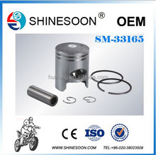 Aluminum engine piston with piston ring for DIO-ZX50, motorcycle engine parts