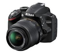 For New Nikon D3200 24.2MP Camera Black w 18-55mm VR Lens