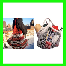 2015 Factory Direct Sale cotton mesh shopping bag wholesale from china