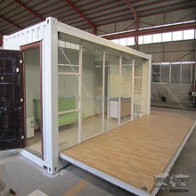 Prefabricated Container House, High Quality, Low Price for Shop, Coffehouse, Fast Food Restaurants