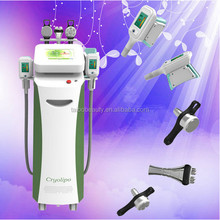 Cryolipolysis fat freeze slimming machine,5 heads laser for different body parts,low price,high quality and fast delivery