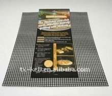 Fiberglass Non-stick Oven Cooking Grid Sheet Grilling mesh Sheet - Dishwasher Safe & Reusable, for Indoor or Outdoor Use