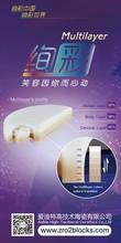 Aidite multi - espacios de sombra capa de material circonio/perfecto para dentaduras postizas