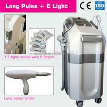 hair Removal for black skin& Skin Rejuvenation ND YAG Long Pulse Laser &elight