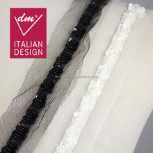 Fashion handmade collar/bead trim for garment