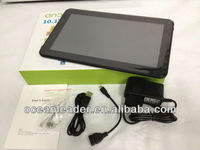High Quality Cheap Price Boxchip Allwinner A20 Dual Core Android 4.2 Support BBC iPlayer 10 inch Tablet PC