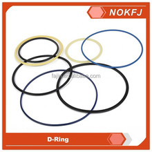 PU NBR material D Ring seal for excavator oil seal