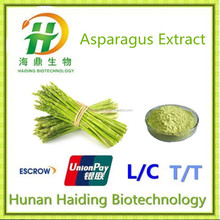 พืชสารสกัดจากรากหน่อไม้ฝรั่งด้วยasparagosidesในผง