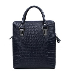2013 wholesale crocodile shoulder clutch leather laptop bag