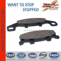 Top quality motorcycle disc brake friction pads,kawasaki brake pad motorcycle,wholesale durable motorcycle brake system parts