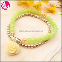 DIY Colorful Bead Bracelets hot sale bracelet golg jewellery