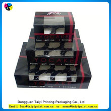 2015 cheap wholesale packaging paper cupcake boxes for cupcake