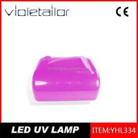 Newest 9W ccfl nail LED uv lamp nail oulac color soak off uv/led nail gel polish led lamps led uv nail lamp