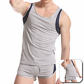 Venta al por mayor del tanque moda Top culturismo hombres de Tight Tank Top