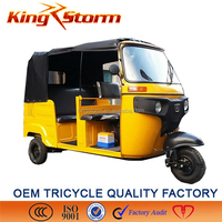 tricycle for passenger 200cc/4 storkes tuk tuk/ 4 strokes tricycle/3 wheels trikes/3 wheels