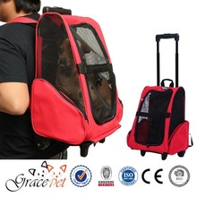Rolling Backpack Travel pet carrier