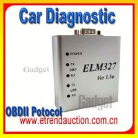 Promotion!!! New Products 2015 High quality ELM 327 USB ELM 327 PC-based ELM327 Interface COM RS232 OBD2 Auto Scanner
