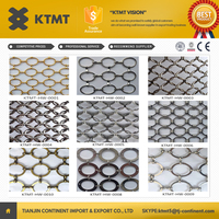 Best selling metal ring mesh/decorative metal screen wire mesh curtain