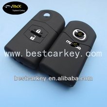 Topbest silicone key cover for mazda key cover for M2 M3 M5 M6 M8