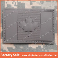 CUSTOM QIBLA DIRECTION PINSTAR 3D PVC CANADA FLAG RUBBER CANADIAN TACTICAL ARMY MILITARY MORALE BADGE ACU VELCRO PATCHES