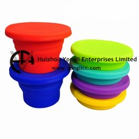 Travel Folding Silicone Cake Mould Cookie Cup