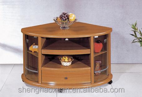Antique Home Furniture Corner Tv Stands Wood Led Tv Table Design K28 Design Wooden Tv Table