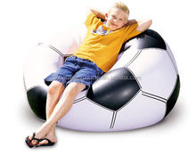 2015 hot sale inflatable soccer chair and sofa