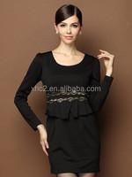 Wholesale ladies office wear Elegant Lace Cotton Blends Bodycon business wear suit