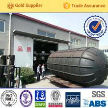 Sling type floating pneumatic rubber marine fender