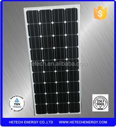 Solar Energy Products,100W monocrystalline photovoltaic solar panel