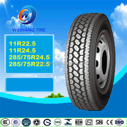 Truck and bus tyre 285/75r24.5 from chinese tyre manufacture with better quality