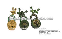 El diseño de bronce cerraduras& manejar