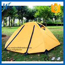 OEM Wholesale Waterproof Cheap Camping 2 Person Tent For Snowfield