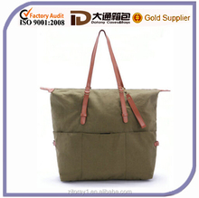 Simple women wholesale canvas handbag from china