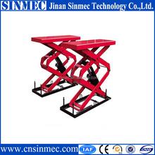 Sinmec anti-explosion hydraulic scissor lift