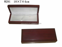 Handicraft Fancy Wooden Quran Pen Box Bracelet Gift Boxes With Strip Fixed W291Q