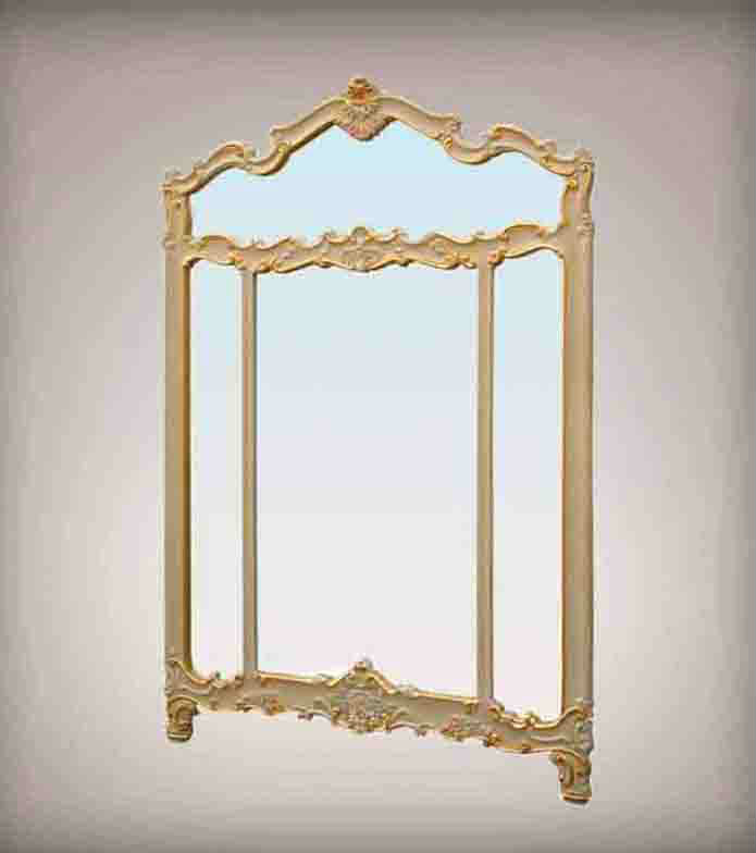 French Wood Antique Mirror -antique Reproduction French Style Furniture - Buy French Wood ...