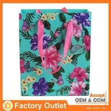 upmarket nice quality sheer mesh drawstring gift bag