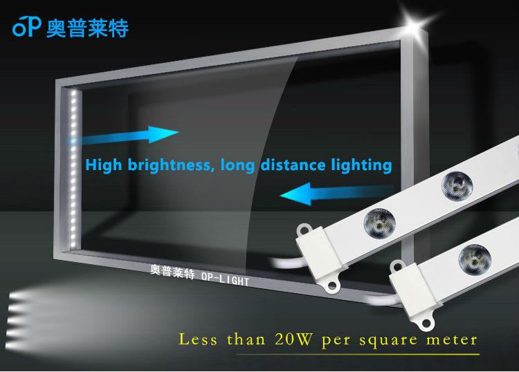 새로운 LED 2015! 높은 전력 측 발광 자기 스트립 LED 조명-LED 지구 ...