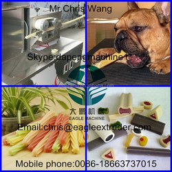 Chewing/Jam Center Pet dog chewing Food machine/production line